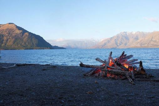 Bonfire at Mr Nicolas